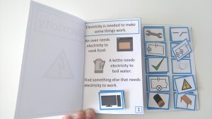 Electricity Interactive Adapted Book